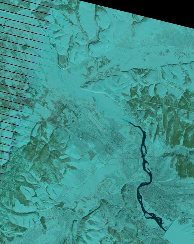 Свежий спутниковый снимок за 24 февраля…