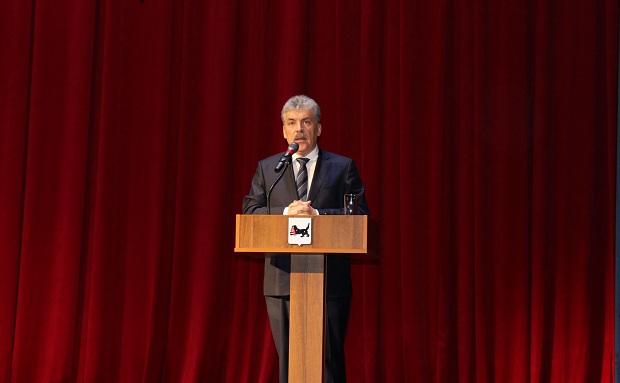 Павел Грудинин. Фото обкома КПРФ