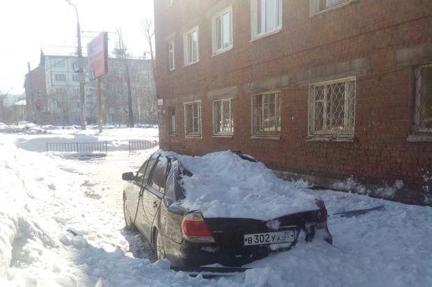 """Toyota на Красноярской. Фото """"ДТП 38RUS""""Фото «ДТП 38RUS»"""