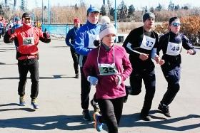 Открытие любительского бегового сезона в Иркутске. Полумарафон «Самопреодоление»