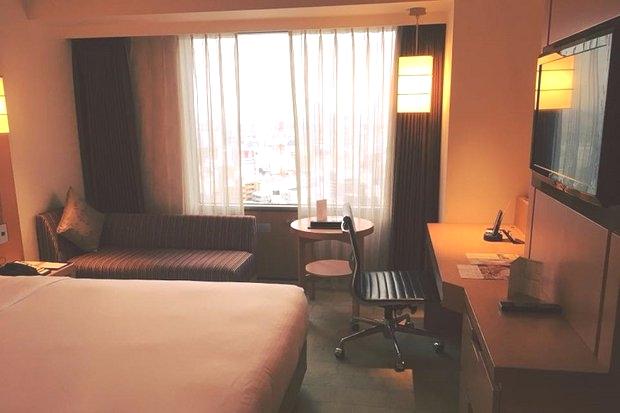 Номер в отеле Swissotel Nankai (Осака)