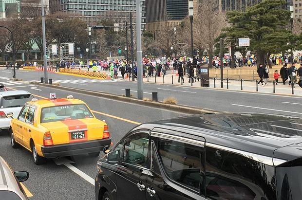 Дорога в Токио