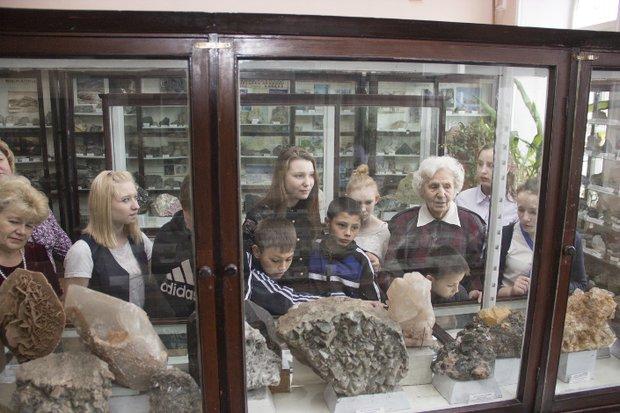 Музей геологического факультета