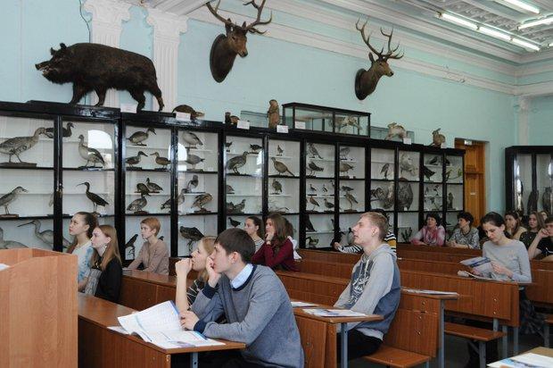 Музей в биолого-почвенном факультете