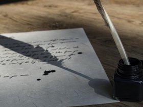 Выставка «Пишу пером! Канцелярские принадлежности конца 19-го — начала 20-го века»