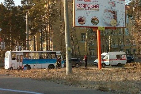 ВАнгарске велосипедист попал под автобус и умер