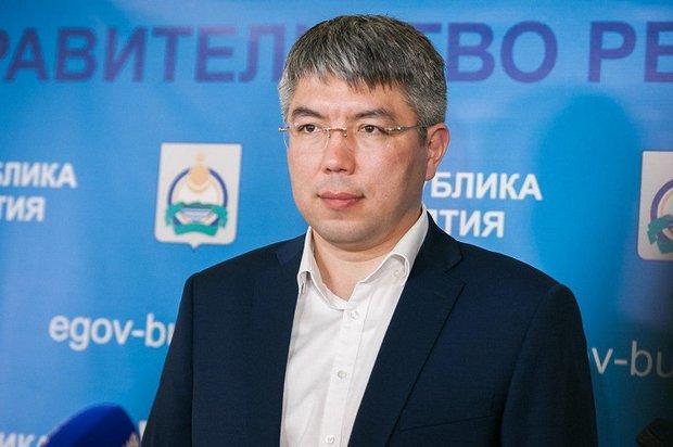 Алексей Цыденов. Фото с сайта правительства Республики Бурятия