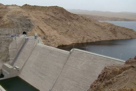 Проект Шурэнской ГЭС. Фото с сайта www.minis.mn/ru
