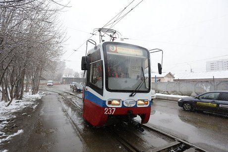 ВИркутск прибыла новая партия трамваев из столицы