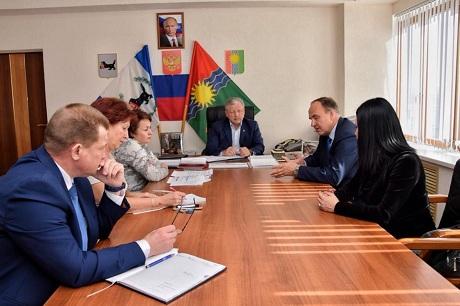 Сергей Серебренников иИгорь Бычков обсудили возможность сохранения братского отдела госуниверситета