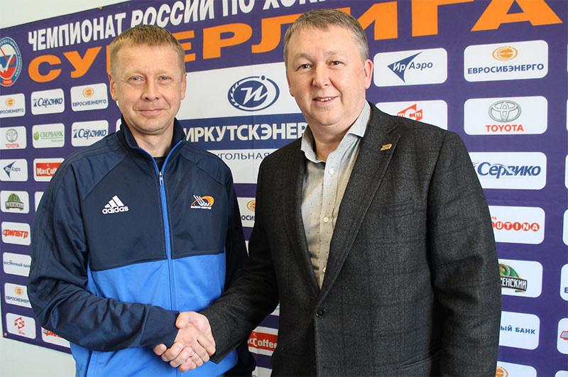 Максим Блем назначен напост старшего тренера «Байкал-Энергии»