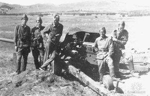 Военные сборы артиллеристов