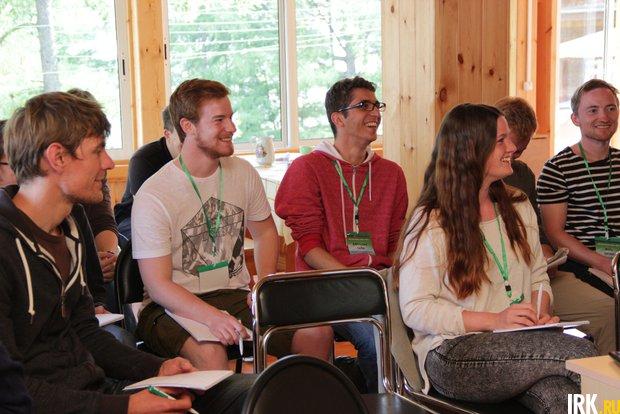 Летняя школа студентов из Германии на базе Байкальской биостанции НИИ биологии ИГУ