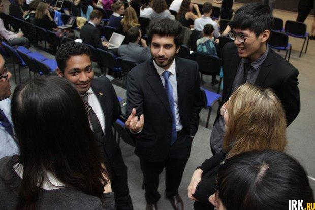 В ИГУ – участники летнего университета АСЕФ, впервые проводимого в России форума молодых лидеров из европейских и азиатских государств