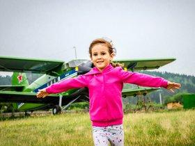 Семейный клуб «Мир на ладошке». Экскурсия «Аэродром Оёк»