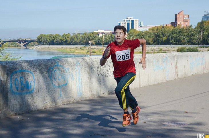 Участник забега. Автор фото — Илья Татарников