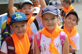 Презентация детской летней площадки в «Академии памяти»