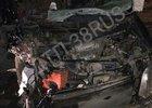 На месте аварии. Фото группы «ДТП 38RUS»
