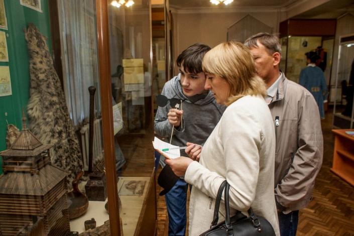Экскурсия в отделе истории Краеведческого музея. Фото предоставлено отделом