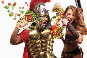 Приглашаем всех желающих на битву fast food*