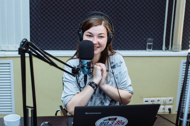 Дарья Аверина - радиоведущая