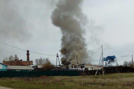 На месте пожара. Фото пресс-службы ГУ МЧС России по Иркутской области