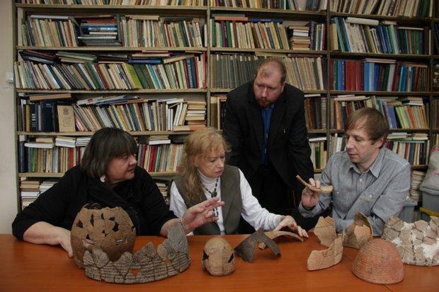 Исследование керамических комплексов эпохи неолита