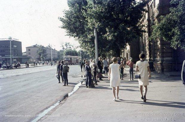 Иркутск в 70-е прошлого века