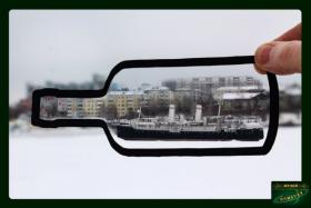 Выставка музея иллюзий и оптики «Фантаст» на ледоколе «Ангара»