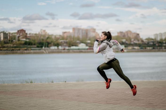 Спортсменка. Фото Ольги Ивановой