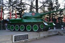 Танк-Т34 «Иркутский комсомолец». Фото IRK.ru