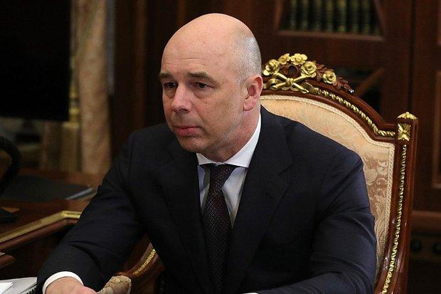 Антон Силуанов. Фото www.kremlin.ru