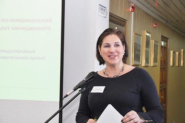 Надежда Грошева. Фото с сайта САФ Байкальской бизнес-школы ИГУ