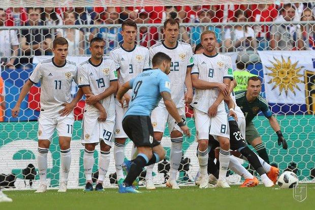 Матч России с Уругваем. Фото Дмитрий Голубович, championat.com