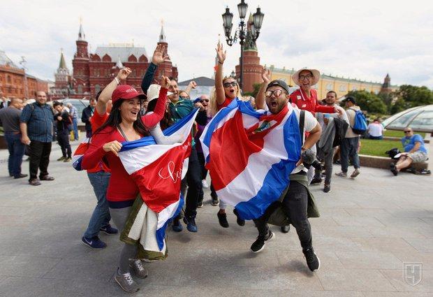 Болельщики в Москве. Фото Алёна Сахарова, championat.com