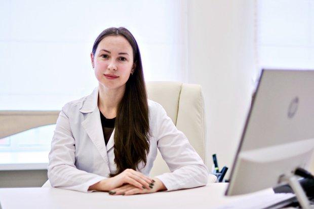 Екатерина Кирюхина -- врач-педиатр