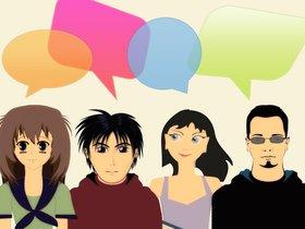 Практикуем английский в разговорном клубе Chatroom* в библиотеке Молчанова-Сибирского