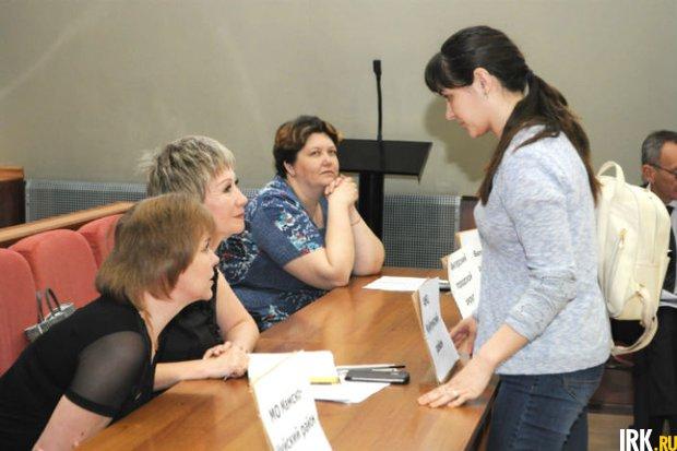 Встреча студентов Пединститута с потенциальными работодателями