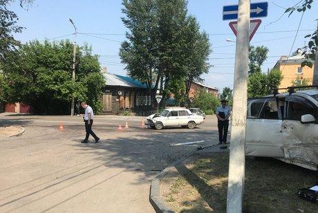 Стрельба иДТП произошли врайоне остановки «Чайка» вИркутске