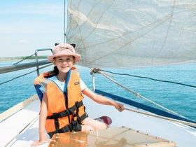 Клуб «Мир на ладошке» приглашает на прогулку на яхте