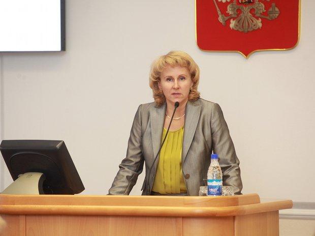 Наталия Бояринова, министр финансов Иркутской области