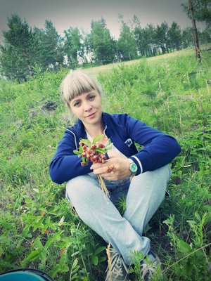 Вот и ягодка поспела)))