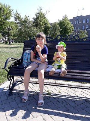 От жары спасаемся мороженым