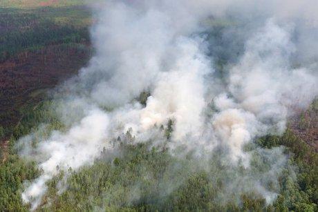 ВИркутской области за минувшие три дня устранили два пожара