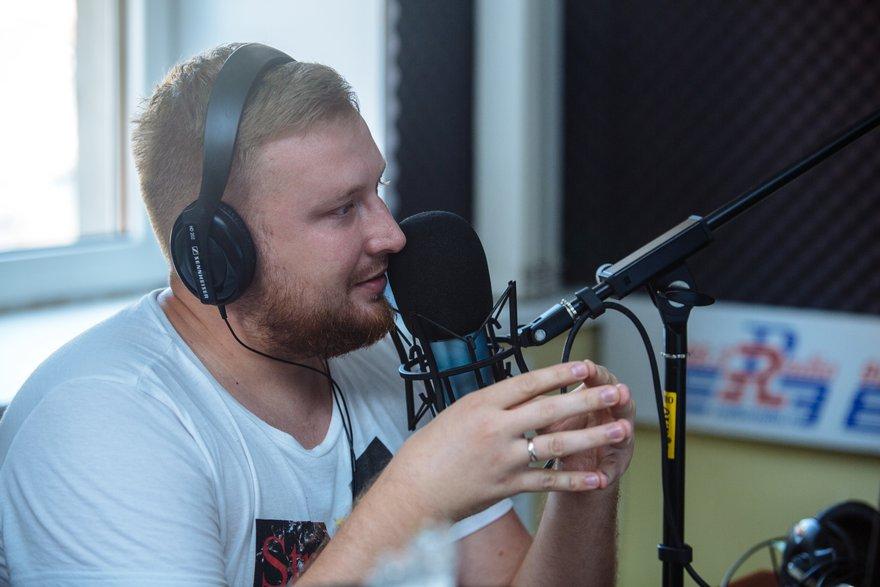 Дмитрий Мальцев, ведущий радиостанции «Радио»