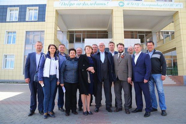 Новая школа в Заларях