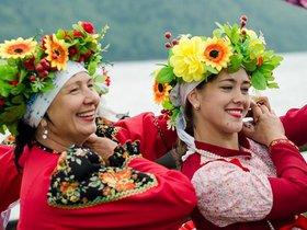 Фестиваль русской культуры в музее «Тальцы»