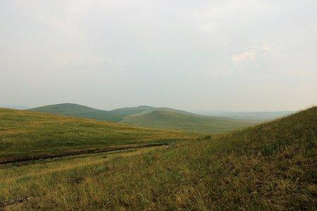 Республика Хакасия — край степей