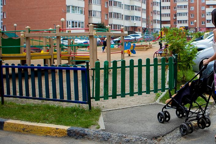 Детская площадка оказалась закрытой