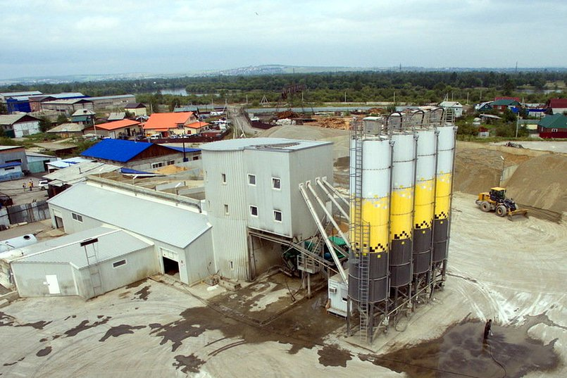 Немецкий завод Stetter на Ракитной «Фабрики Бетонов»